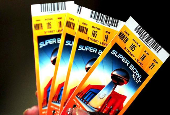 Superbowl Tickets