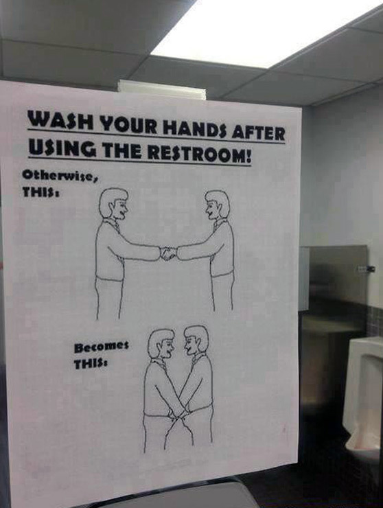 Caption This Funny Photo Wash Hands