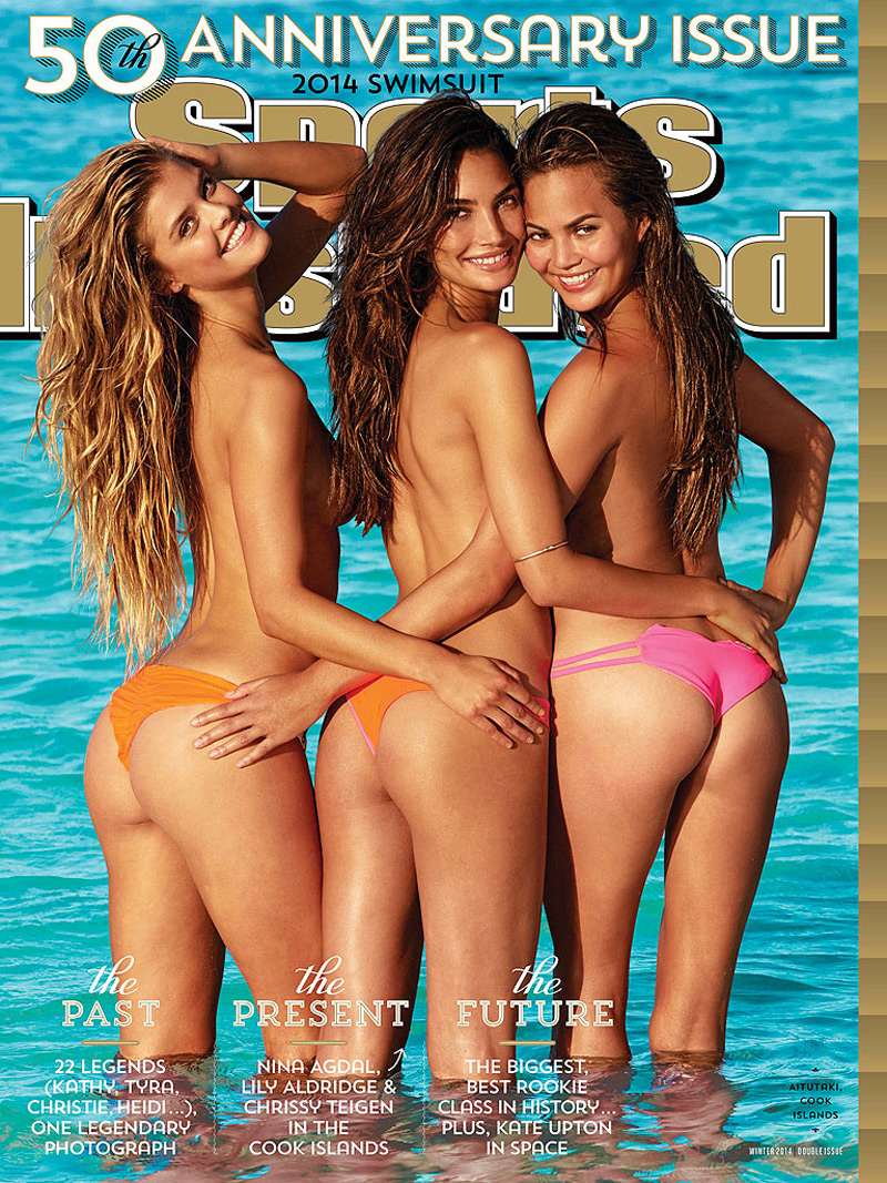 50th Anniversary Sports Illustrated 2014 Swimsuit Cover Issue