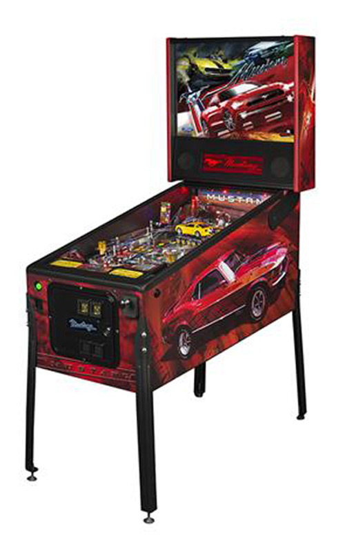 Ford Mustang Pinball Machine 1