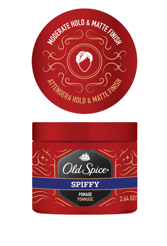 Old Spice Jar Pommade Spiffy