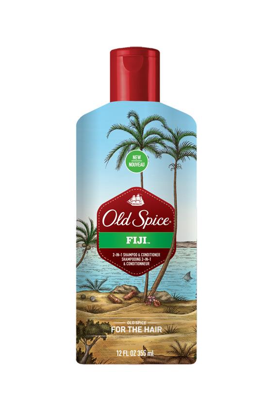 Old Spice Shampoo Fiji