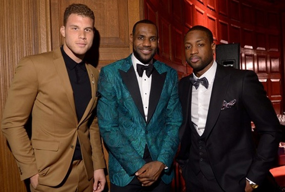 Lebron Black Griffin Dwayne Wade Gq Party