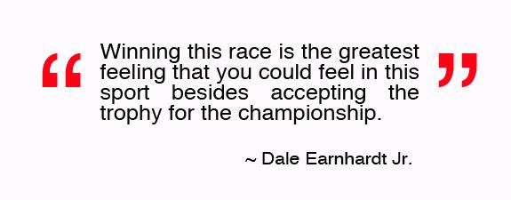 Quote Dale Earnhardt Jr Nascar Daytona
