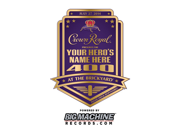 Crown Royal Your Hero Name Here Launch Logo 1