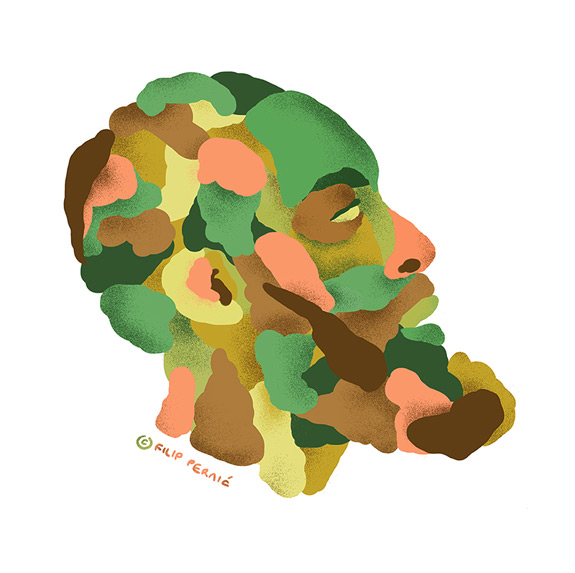 James Harden Illustrated Camo