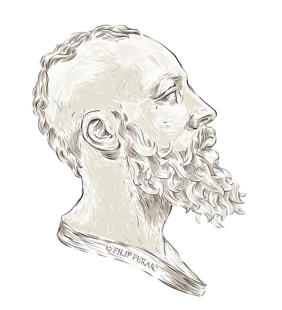 James Harden Illustrated
