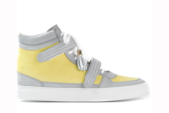 Louis Leeman Paris Hi Top Sneaker