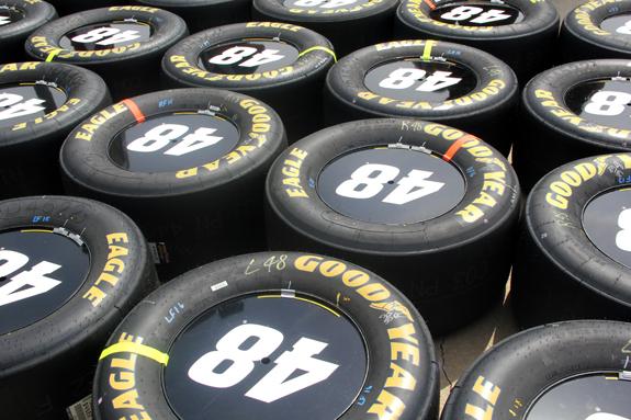 Jimmie Johnson NASCAR Auto Club 400 Fontana