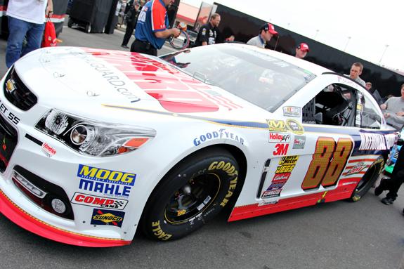NASCAR Auto Club 400 Fontana 5