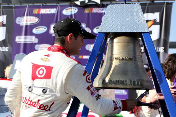 NASCAR Kyle Larson Fontana