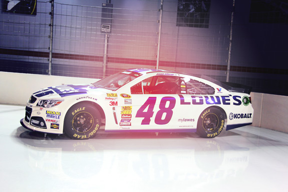 Hendrick Motorsports Valvoline Engine Build Jimmie Johnson Car
