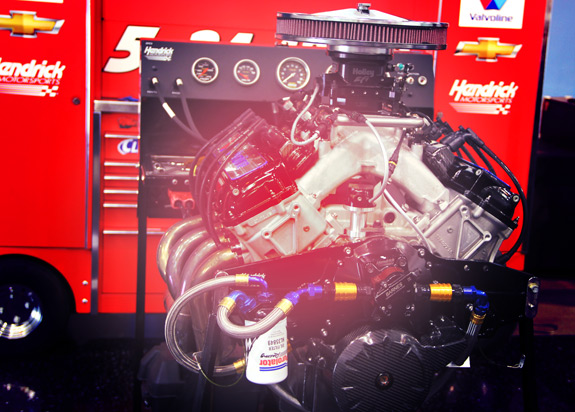 Hendrick Motorsports Valvoline Engine Build