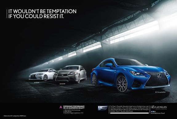 Lexus F Lineup