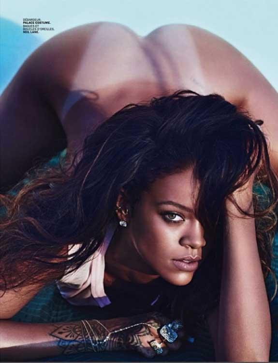 Rihanna Lui Magazine Nude Naked