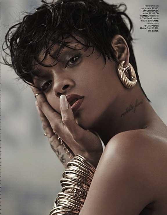 Rihanna Vogue Brazil Photos