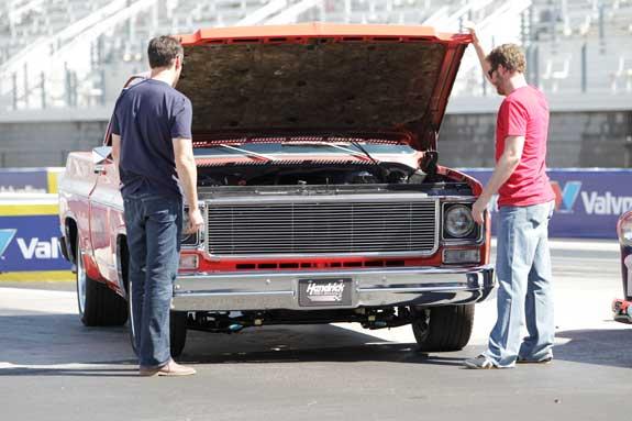 Dale Jr Jimmie Johnson Valvoline Trucks