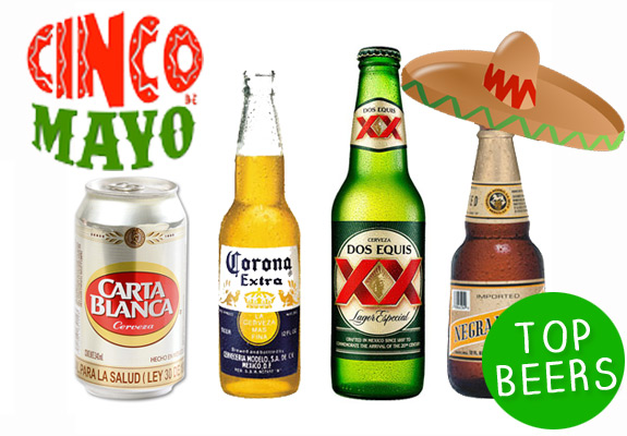 Cinco De Mayo Top Beers