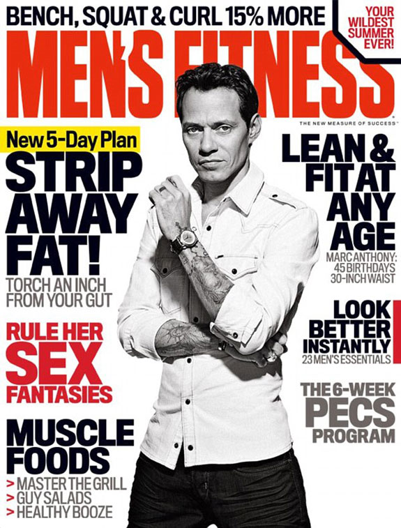 Marc Anthony Men's Fitness