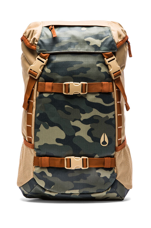 Nixon Surplus Camo Landlock Backpack