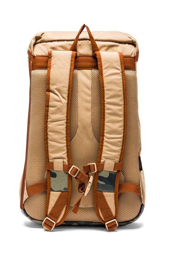 Nixon Surplus Camo Landlock Backpack