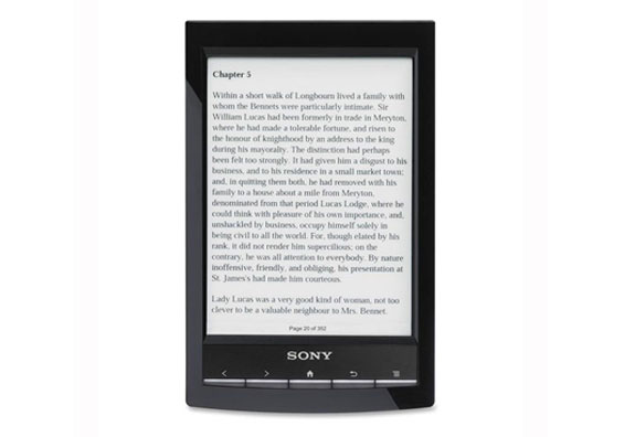 Sony Reader Wi Fi Touch Sceen EBook Reader