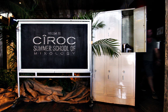 Ciroc Mixology Summer School