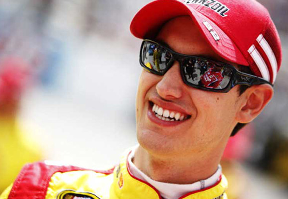 Nascar Driver Joey Logano Interview