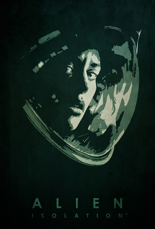 Alternative Minimalist Movie Posters Alien