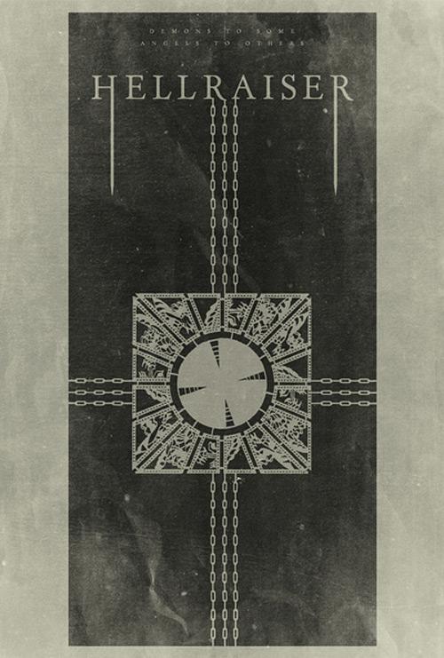 Alternative Minimalist Movie Posters Hellraiser
