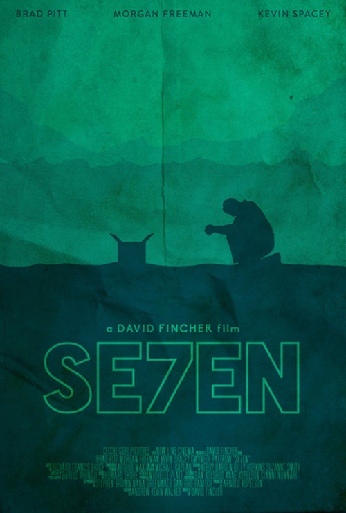 Alternative Minimalist Movie Posters Se7ven