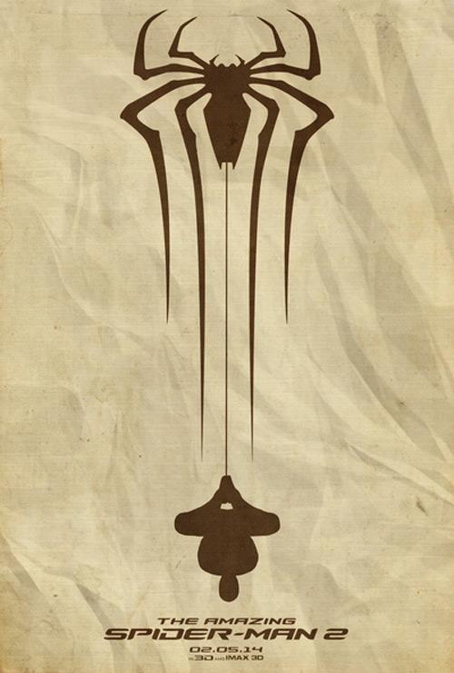 Alternative Minimalist Movie Posters Spiderman 2
