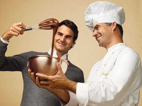 Chocolate Heaven Lindt Roger Federer