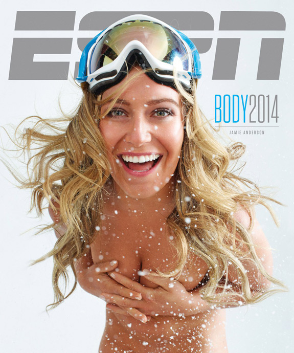 ESPN The Magazine Body Issue Cover 2014y