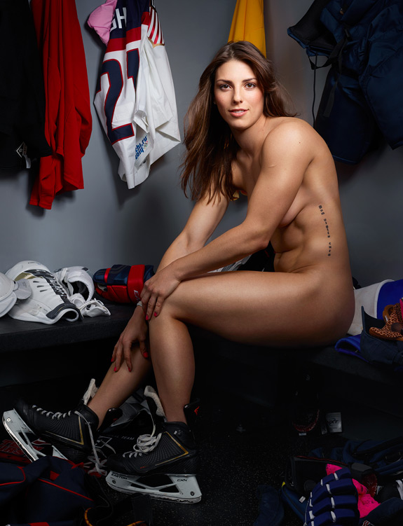 ESPN The Magazine Body Issue Hillary Knight