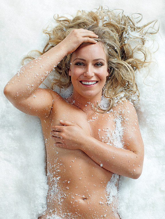 ESPN The Magazine Body Issue Jamie Anderson Body