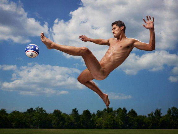 ESPN The Magazine Body Issue Omar Gonzalez