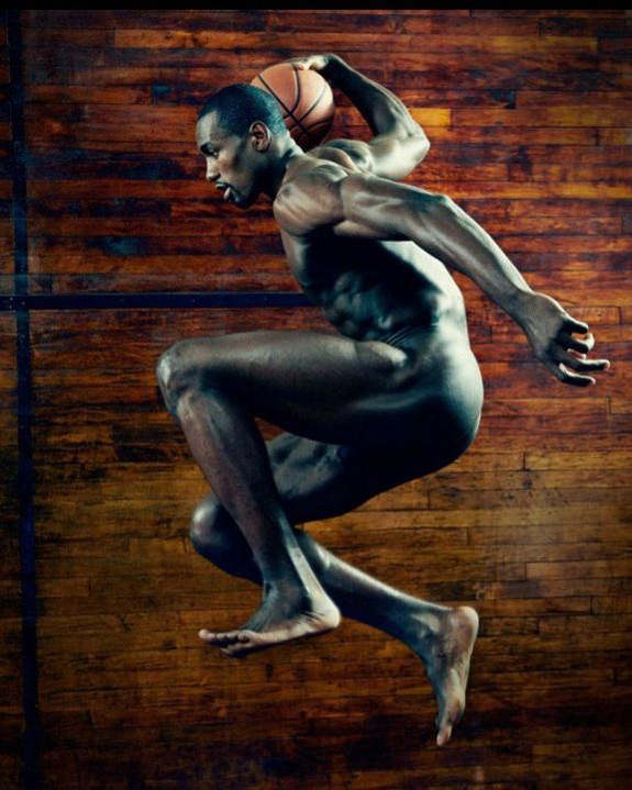 ESPN The Magazine Body Issue Serge Ibaka