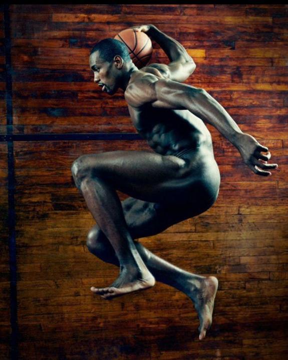 ESPN The Magazine Body Issue Serge Ibaka