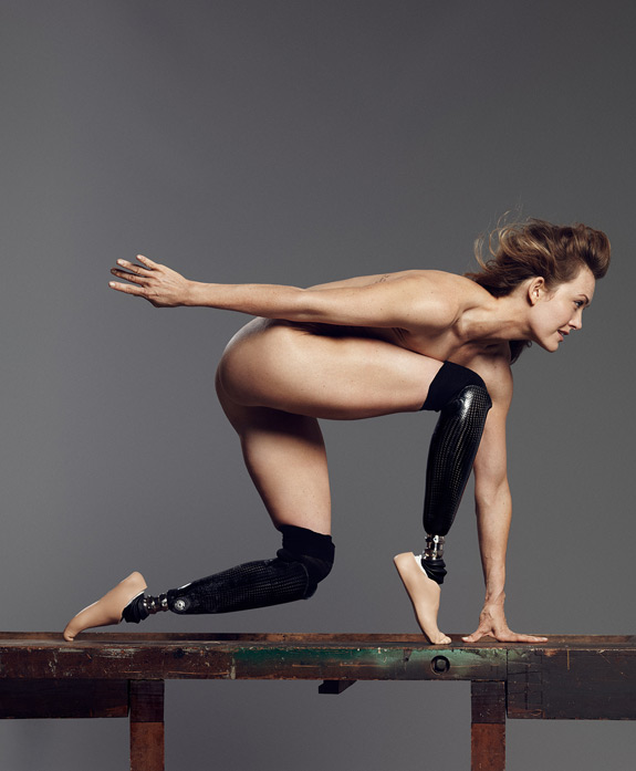 ESPN The Magazine Body Issue Amy Purdy