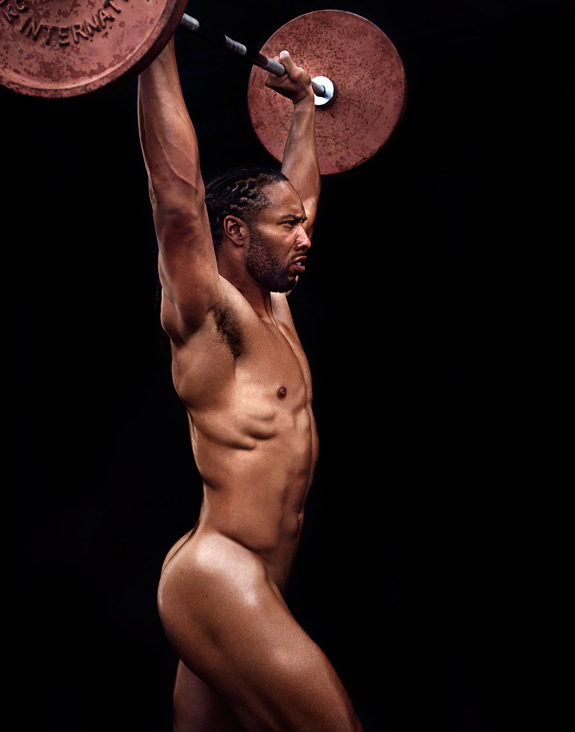 ESPN The Magazine Body Issue Larry Fitzgerald