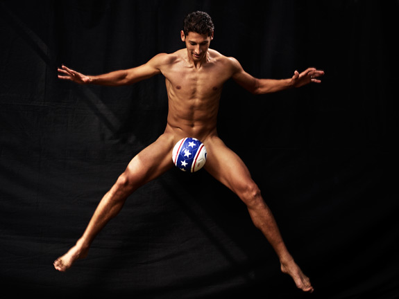 ESPN The Magazine Body Issue Omar Gonzalez 2