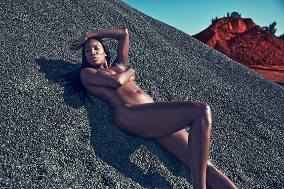 ESPN The Magazine Body Issue Venus Williams