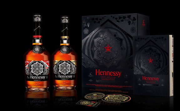 Hennessy VS Shepard Fairey Limitied Edition