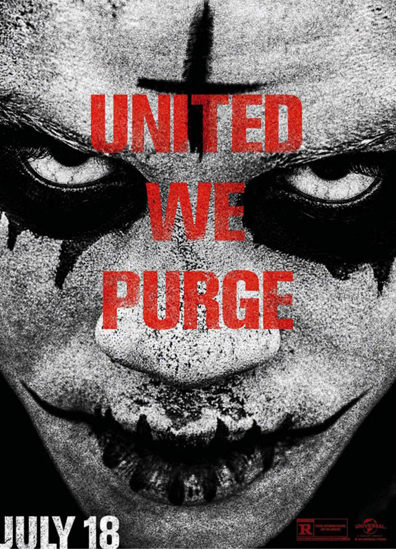 The Purge Anarchy Poster United