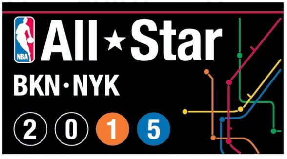 Nba All Star Logo New York City Brooklyn