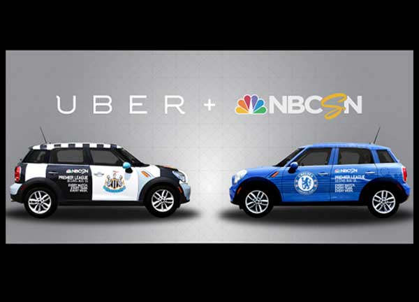 Uber Premier League Club Mini Cooper