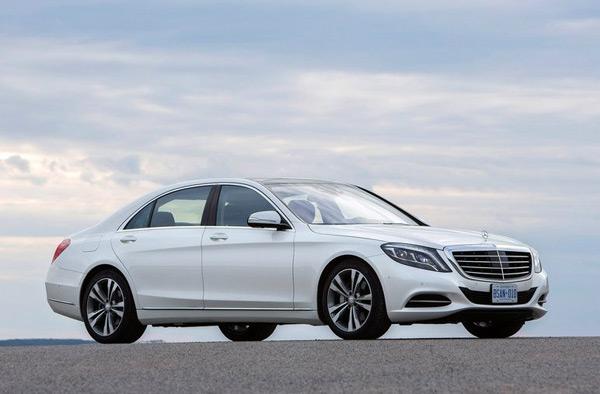 Mercedes Benz S Class White