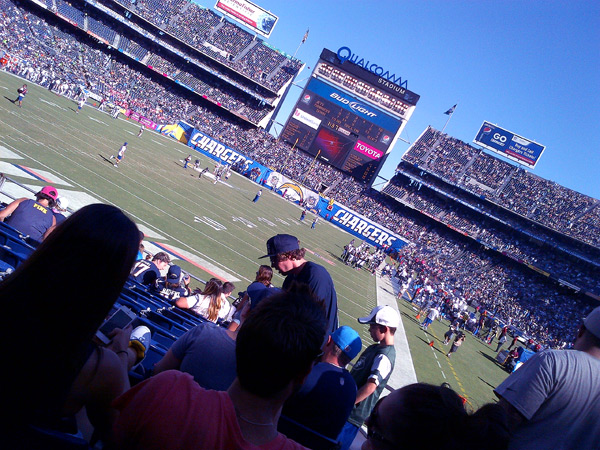 San Diego Chargers Game