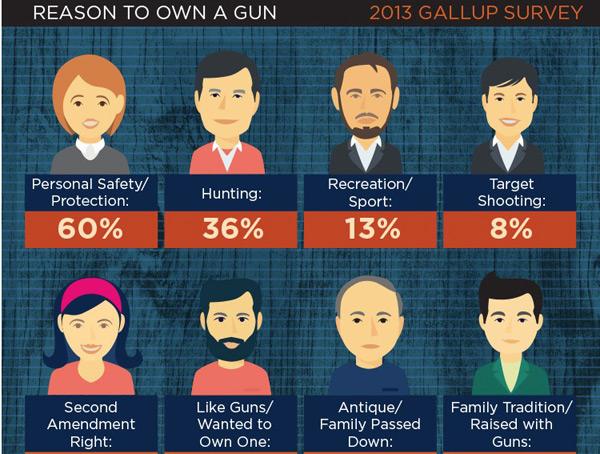 Infographic Guns